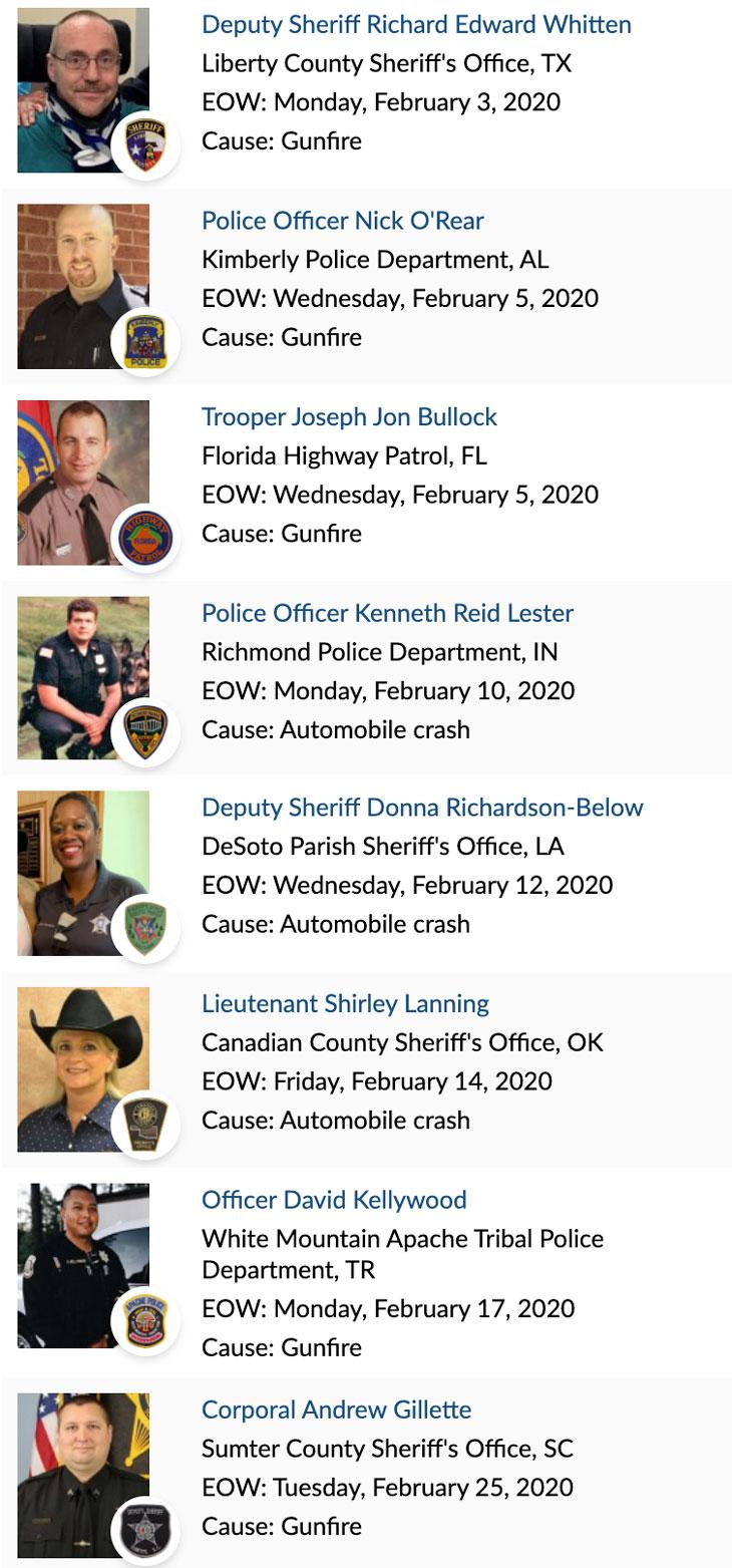 Officer Memorial 02-2020