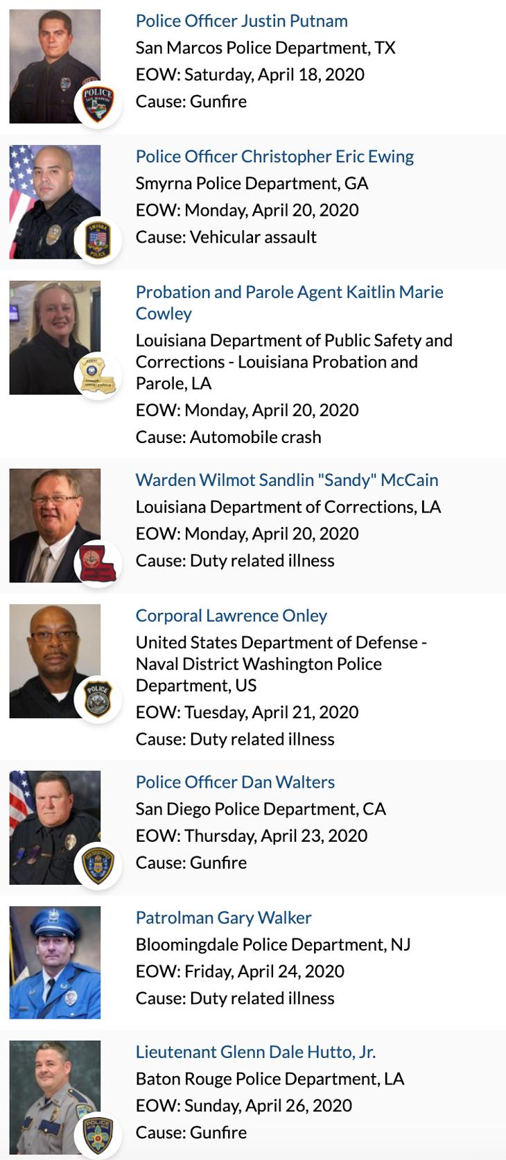 Officer Memorial 04-2020 3 of 4