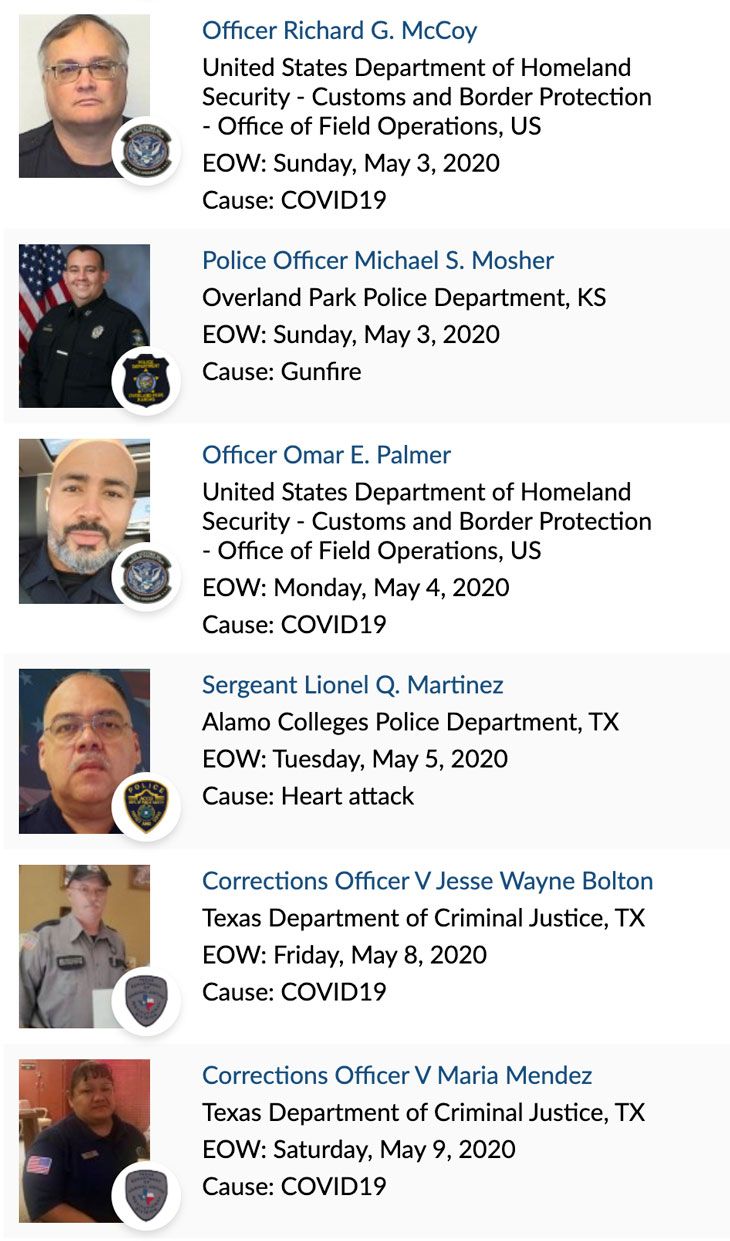 Officer Memorial 05-2020 1 of 3