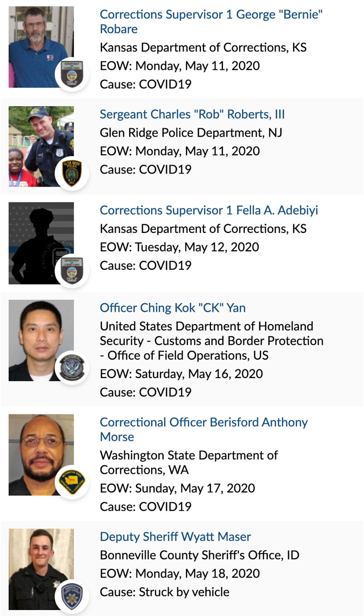 Officer Memorial 05-2020 2 of 3