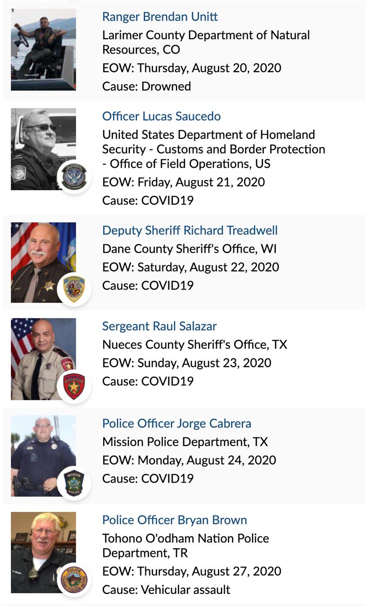 Officer Memorial 08-2020 3 of 4